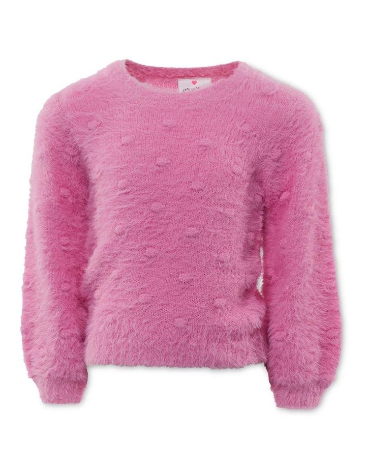 Bobble Fluffy Knit image 1