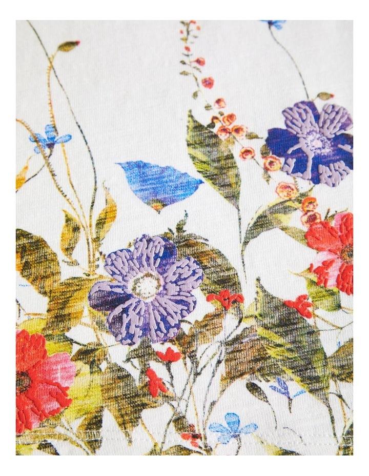 Floral Printed Top image 3
