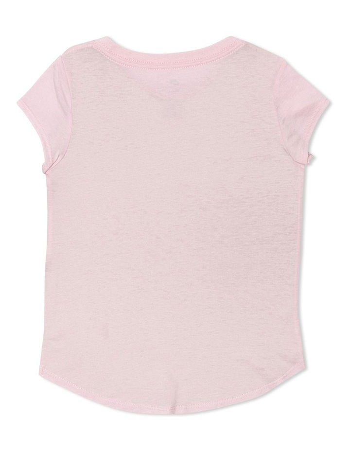 Graphic Short Sleeve T-Shirt Pink image 2