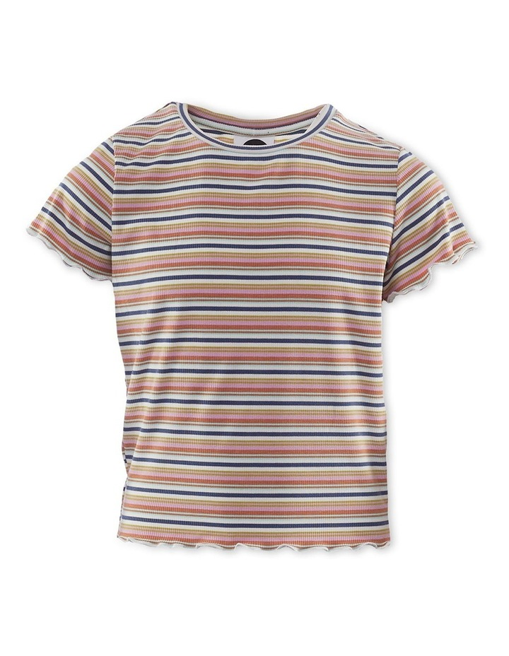 Georgie Rib T-Shirt Pink image 1