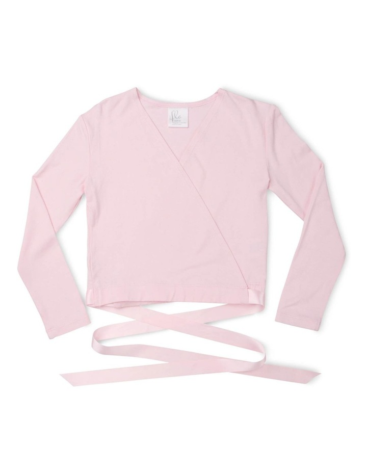 Classic Satin Tie Long Sleeve Knitwear Pink image 1