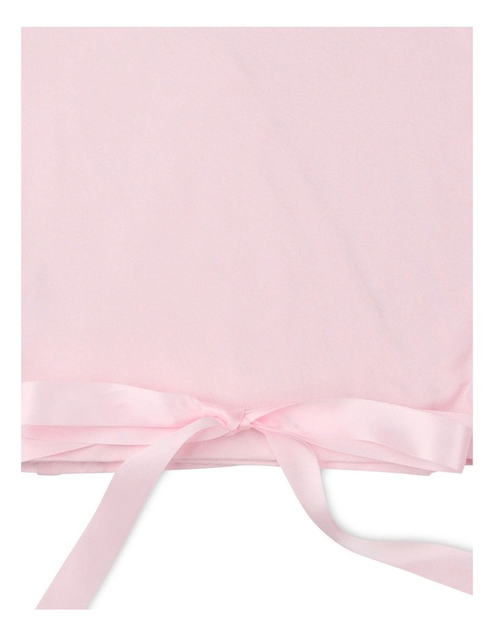 Classic Satin Tie Long Sleeve Knitwear Pink image 3