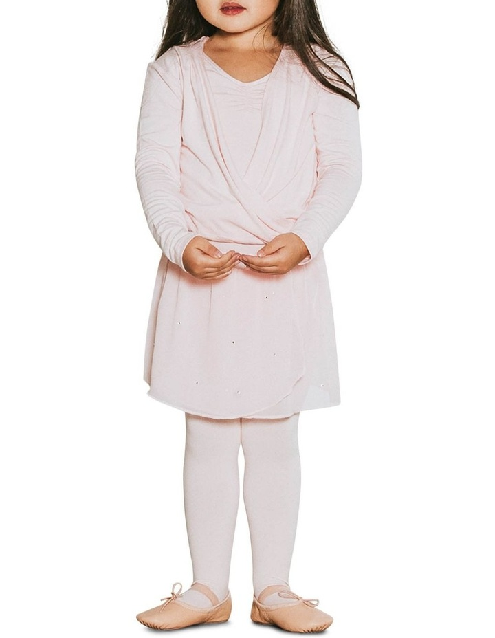 Classic Satin Tie Long Sleeve Knitwear Pink image 4