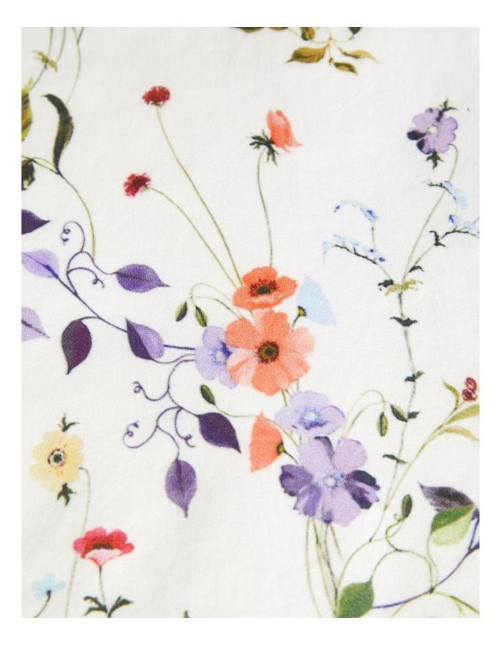 Floral Printed Short Sleeve Top image 3
