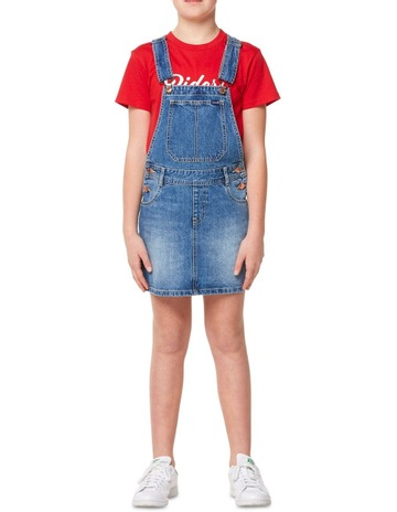 Riders JNR by Lee Utility Dungaree Dress 9f5c41ebc