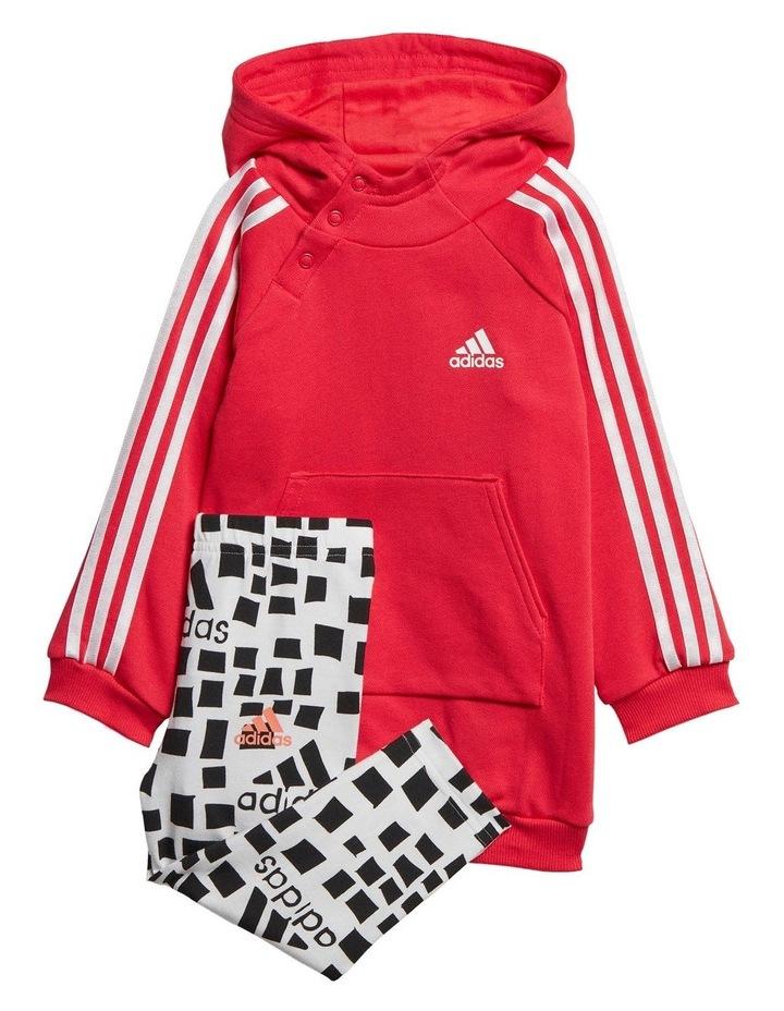 Infant Girls Hooded Dress Set image 1