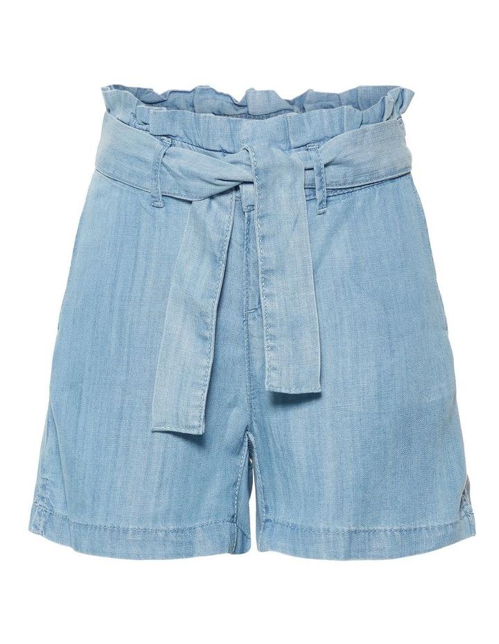 Woven Denim Shorts image 1