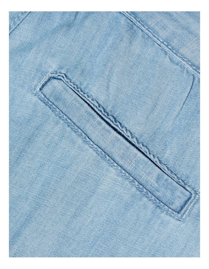 Woven Denim Shorts image 3