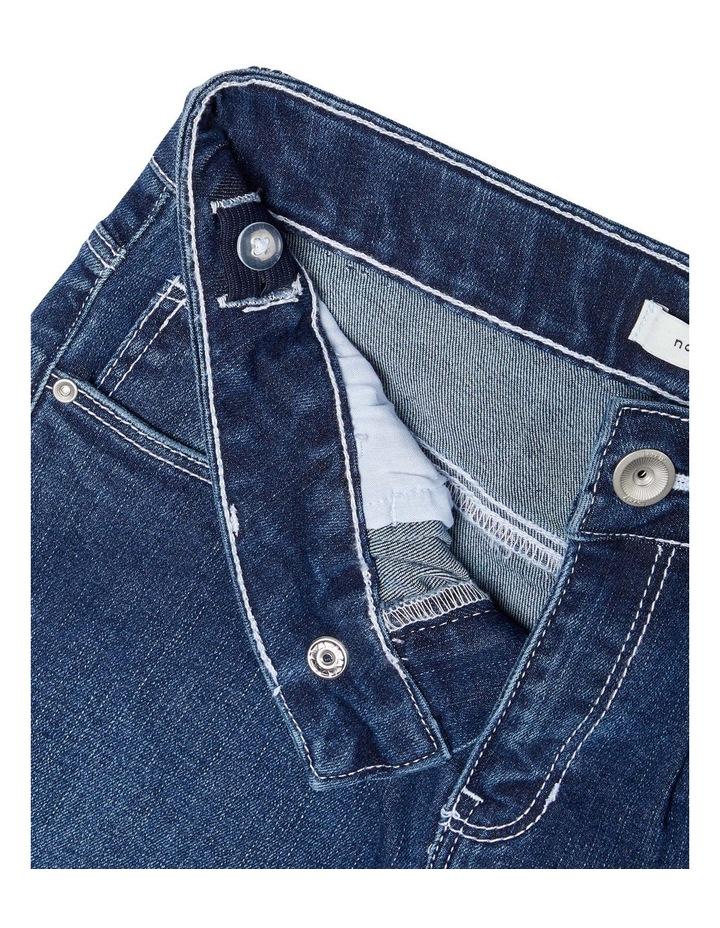 High-Waist Denim Shorts image 2