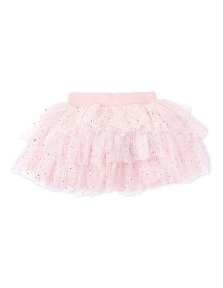 Gypsy Layered Tutu With Bow Pink image 1