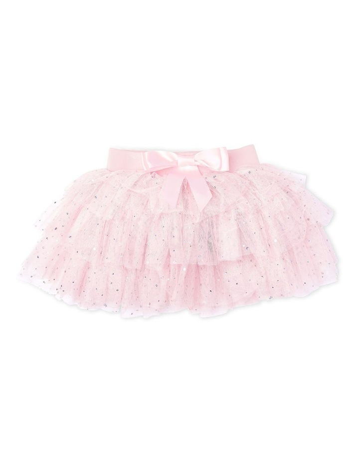 Gypsy Layered Tutu With Bow Pink image 2