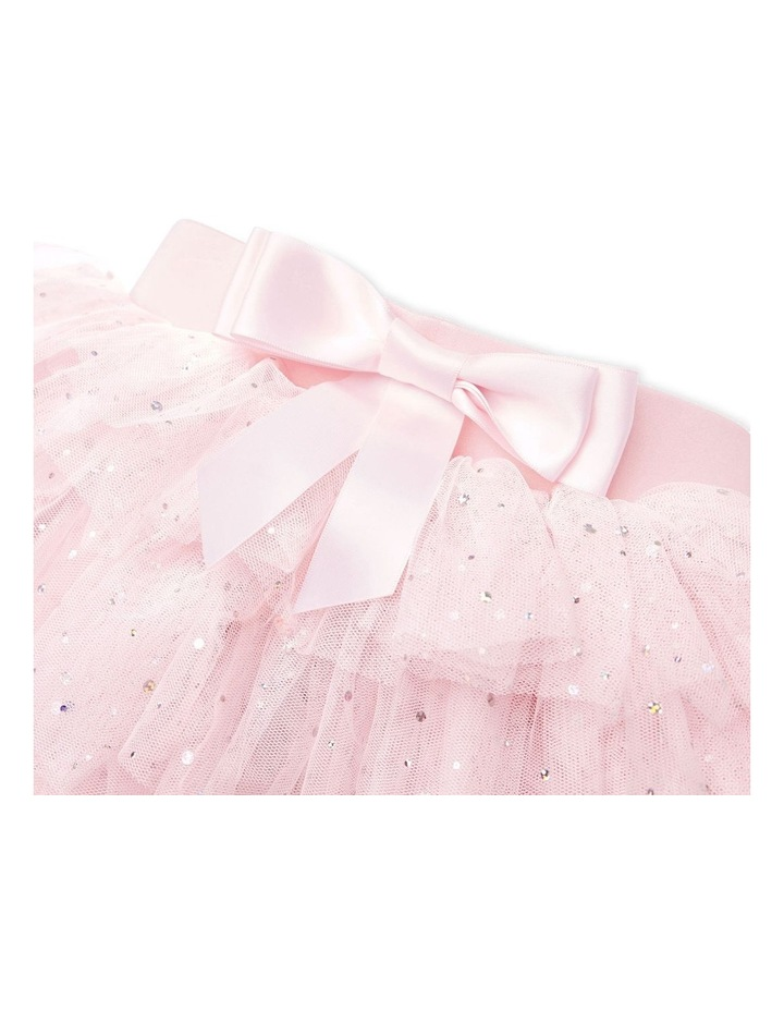 Gypsy Layered Tutu With Bow Pink image 3