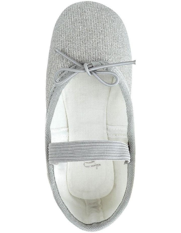 Silver Sparkle Ballet Shoe image 3