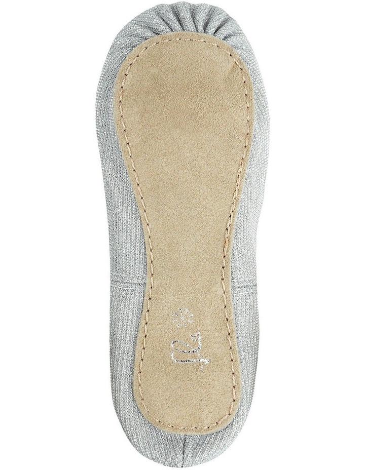 Silver Sparkle Ballet Shoe image 4