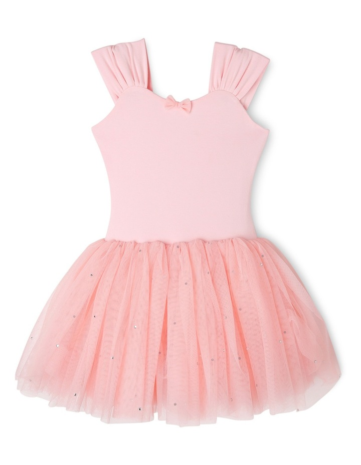 Wide Strap Tutu Leotard Dress 3-7 image 1