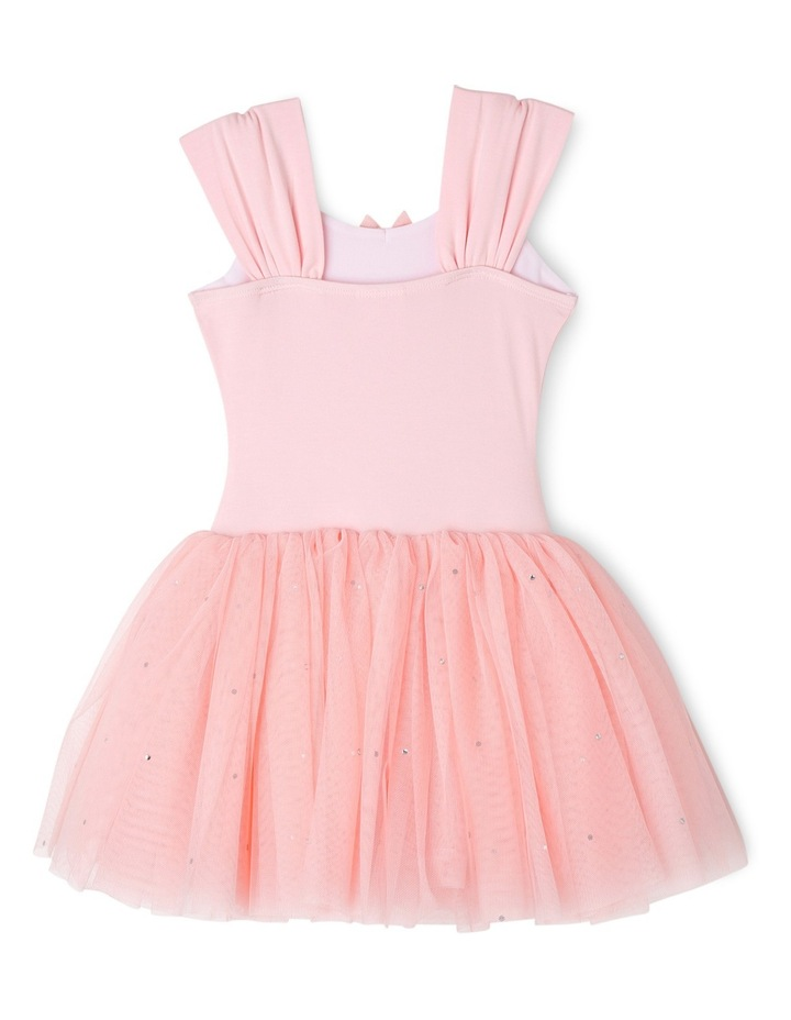 Wide Strap Tutu Leotard Dress 3-7 image 2