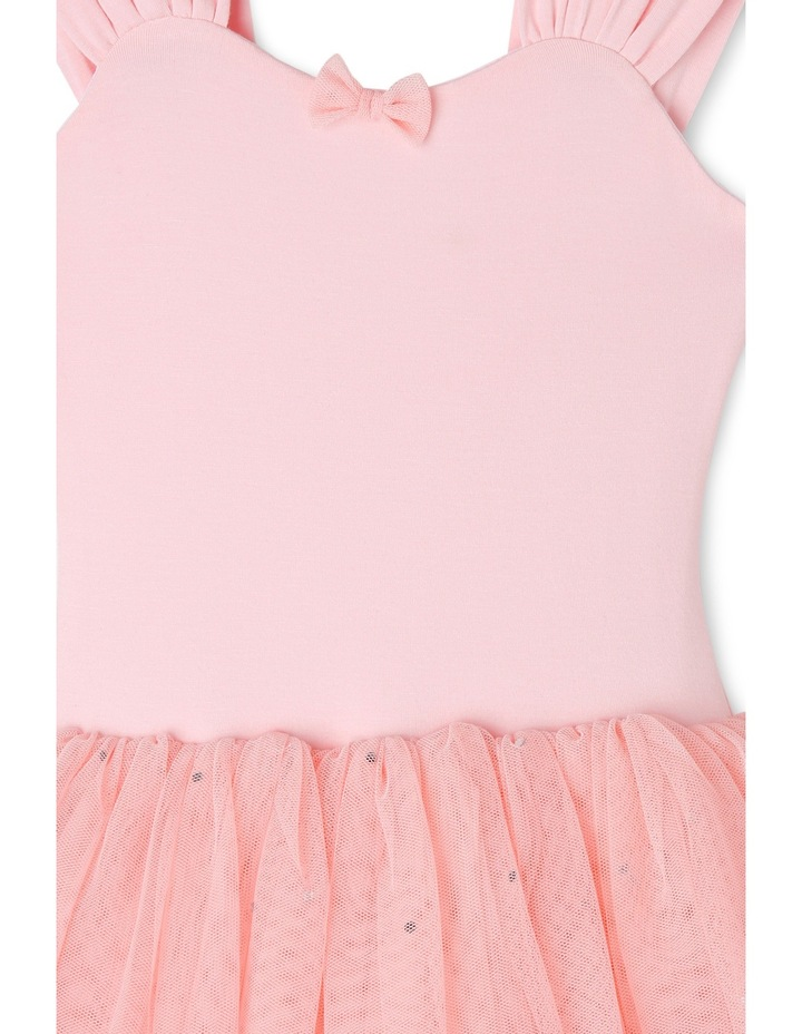 Wide Strap Tutu Leotard Dress 3-7 image 3