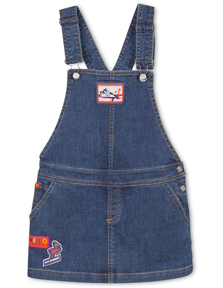 Girls Denim Overall - Elonie image 1