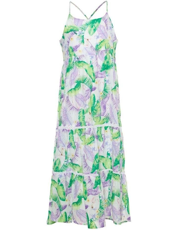 Tropical Print Maxi Dress image 1