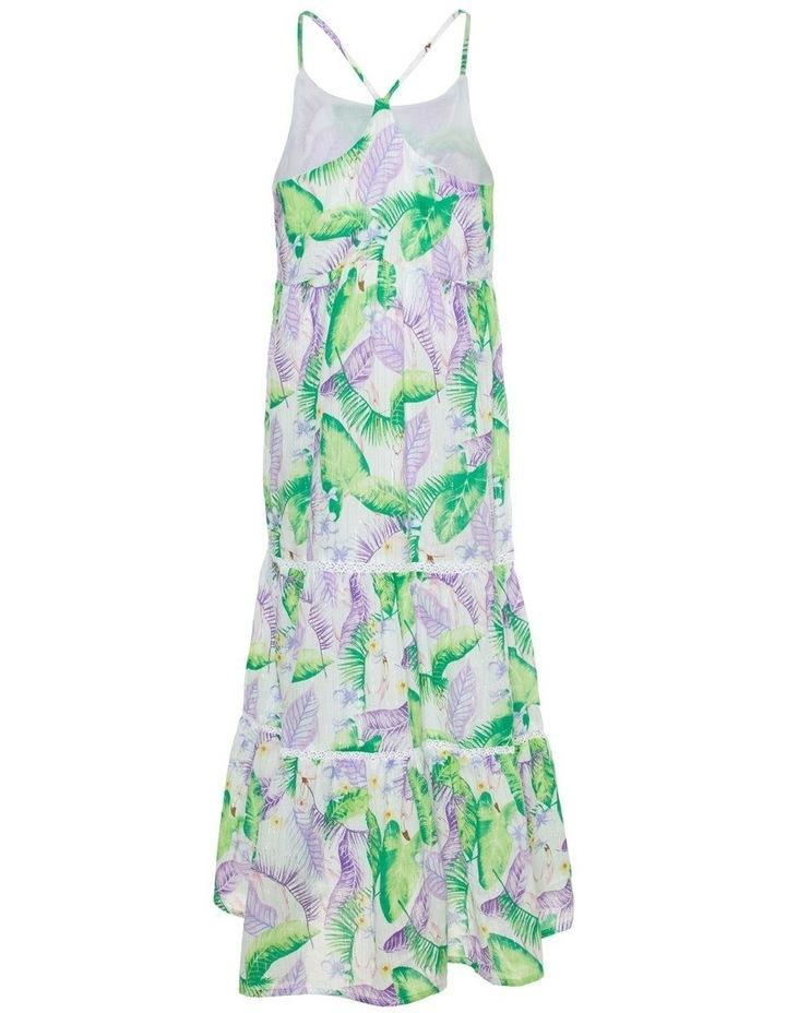Tropical Print Maxi Dress image 2