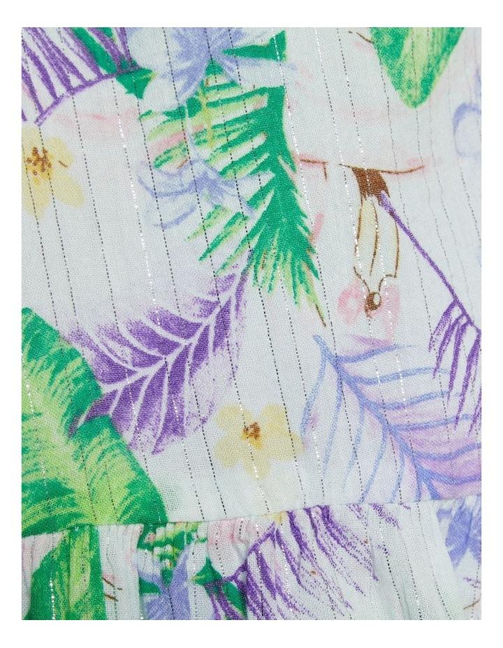 Tropical Print Maxi Dress image 3