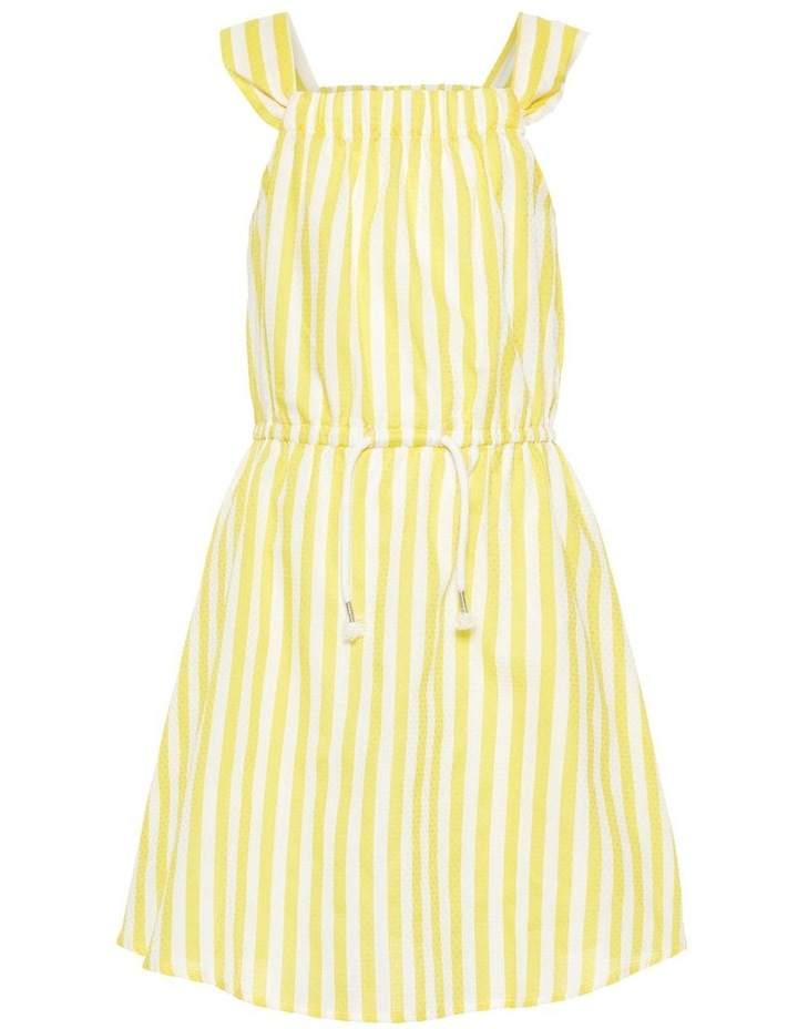 Striped Yellow Dress image 1