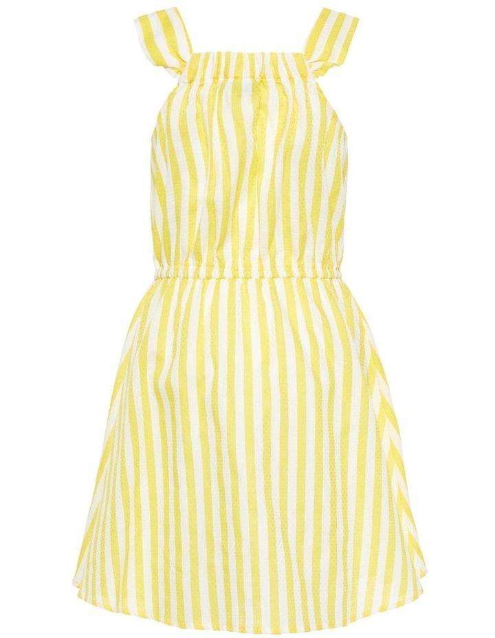 Striped Yellow Dress image 2