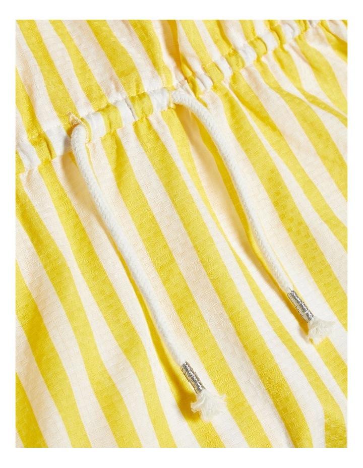 Striped Yellow Dress image 3