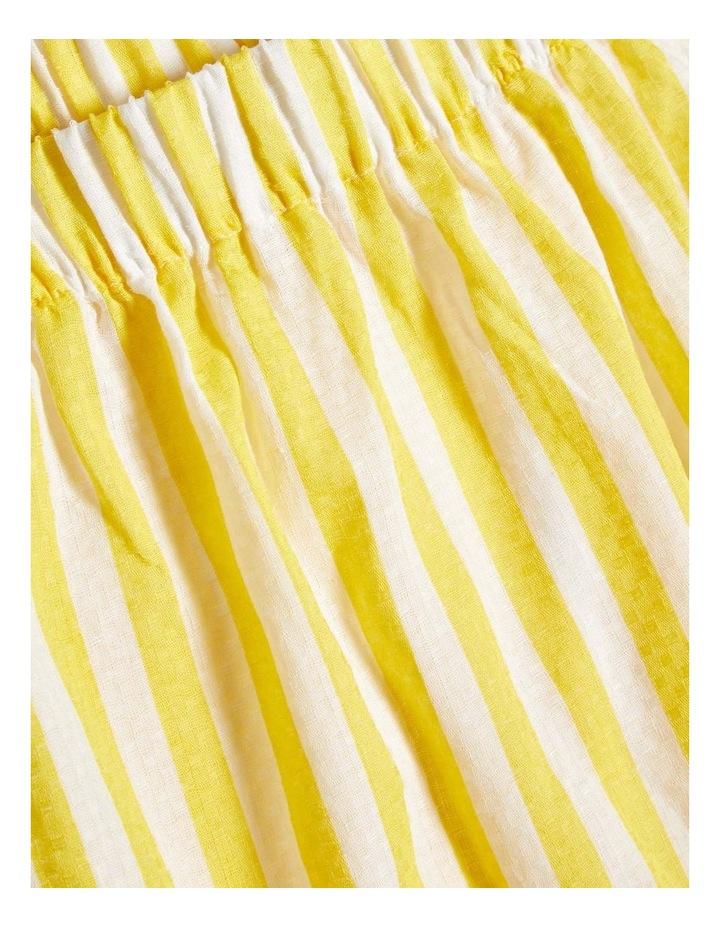 Striped Yellow Dress image 4