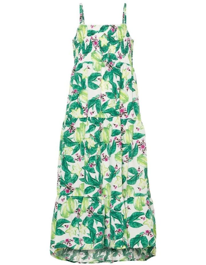 Floral Printed Maxi Dress image 1