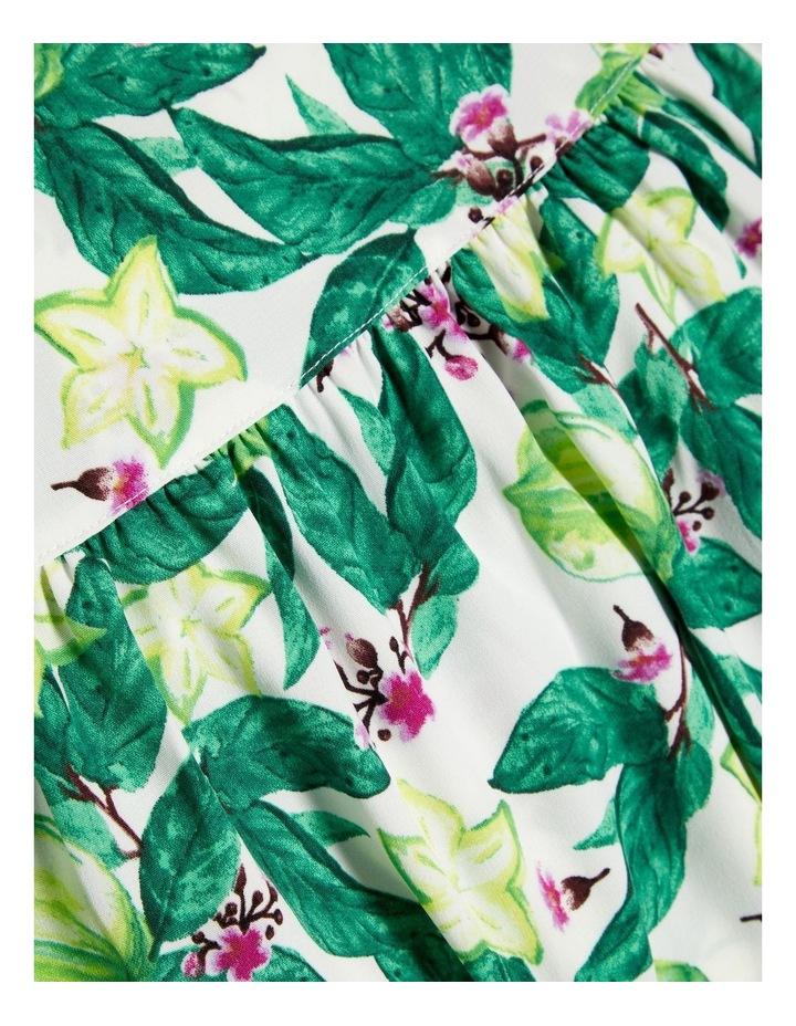 Floral Printed Maxi Dress image 3