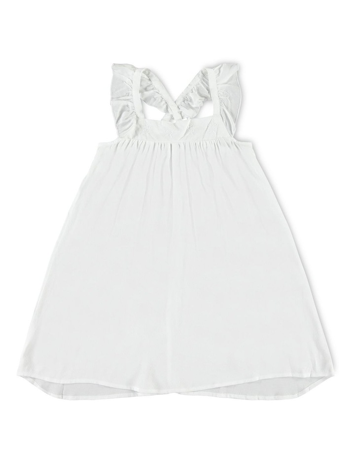White Strap Dress image 1