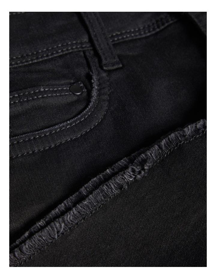 Black Denim Skirt image 3