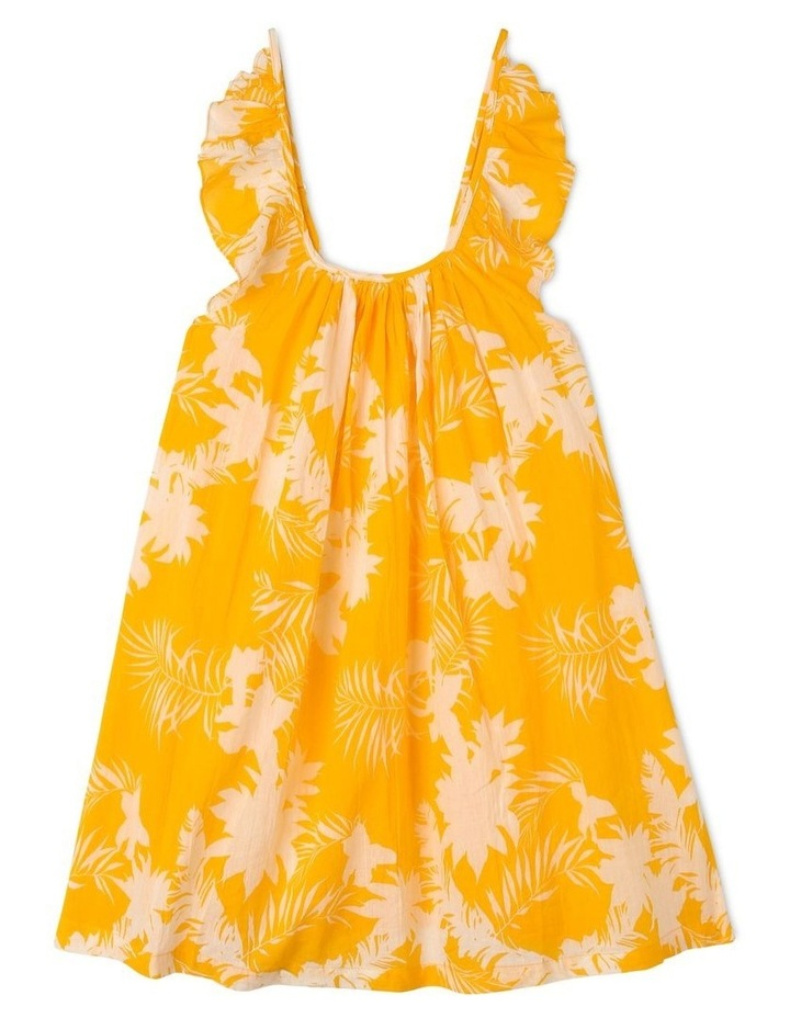 Mini Me Wild Tropics Frill Dress image 1