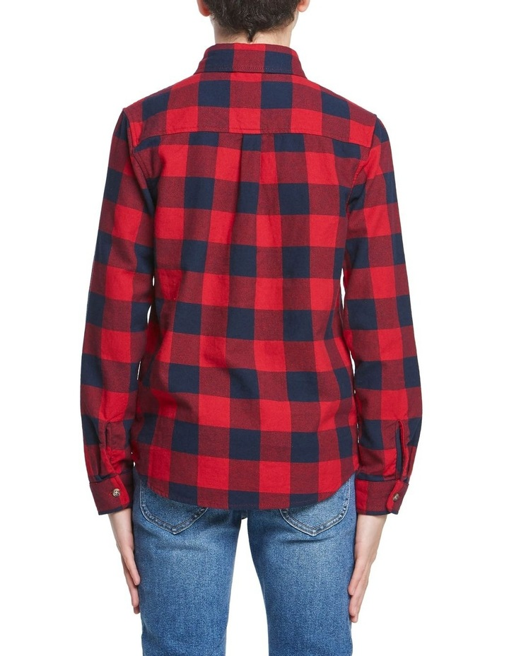 Boys Check Shirt image 3