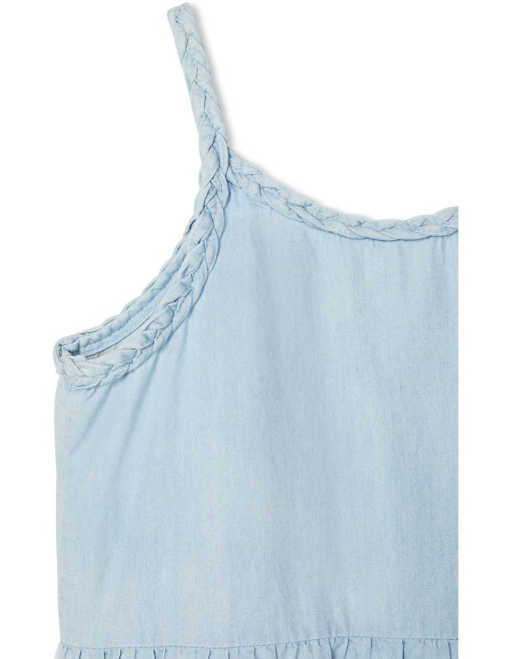 Multi Tone Denim Dress image 2