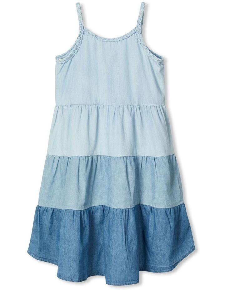 Multi Tone Denim Dress image 3