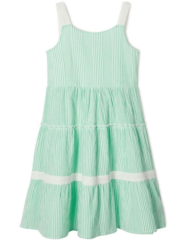 Joslyn Striped Midi Dress image 1