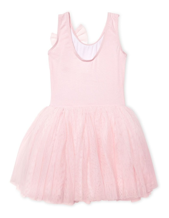 Classic Bow Tutu Dress Pink image 2