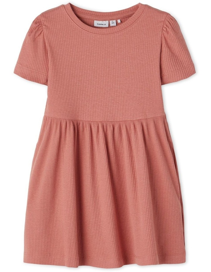 Hanilla Short Sleeve Dress Red image 1
