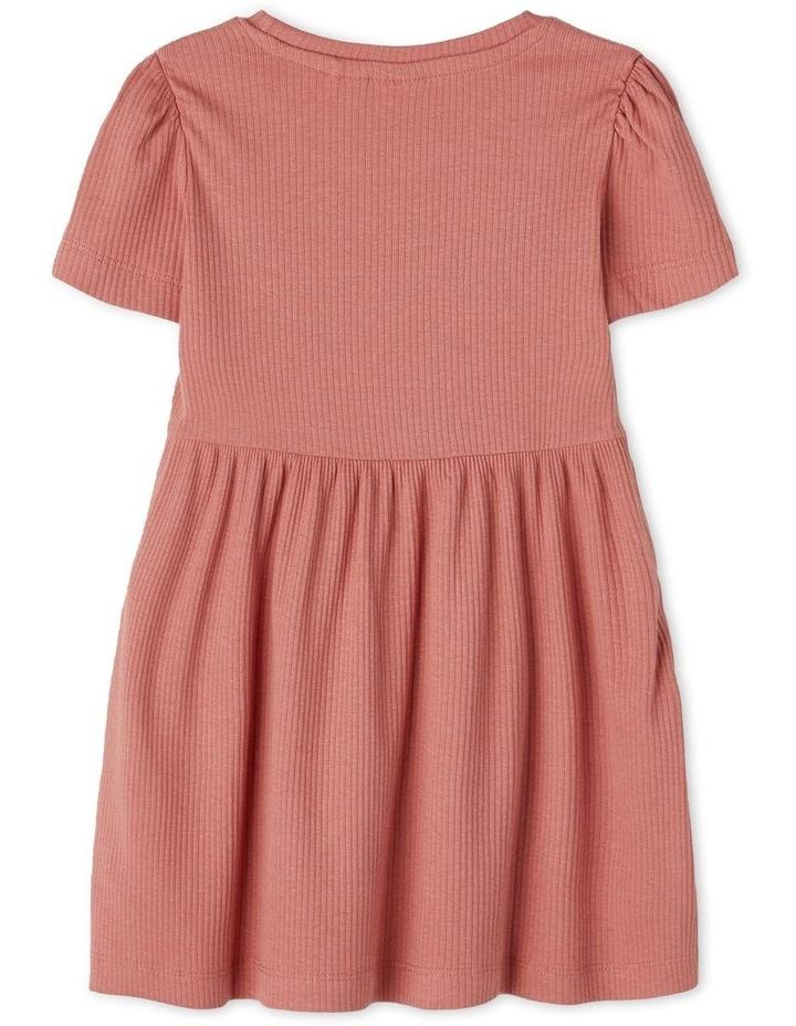 Hanilla Short Sleeve Dress Red image 2
