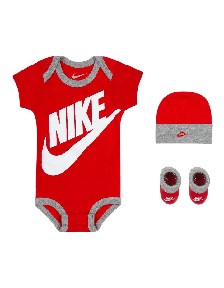 434609506 Nike | NIKE RLN0073 FUTURA LOGO BOXED SET UNIVERSITY RED | MYER