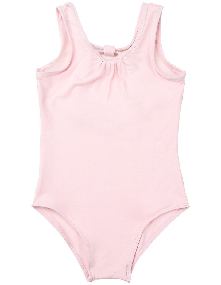 Tank Leotard With Sparkle Mesh image 1