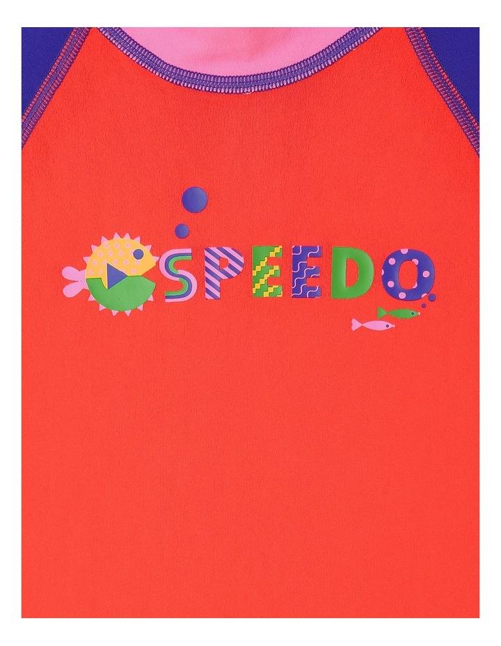 Girls Logo Short Sleeve Suntop image 2
