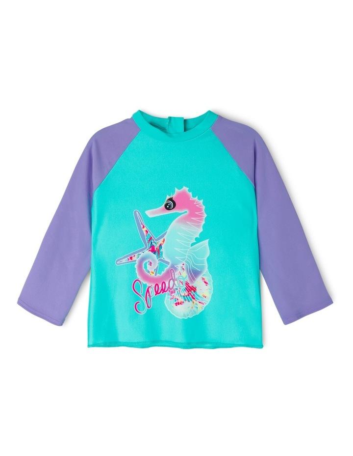 Toddler Girls Sea Magic Long Sleeve Rashie image 1