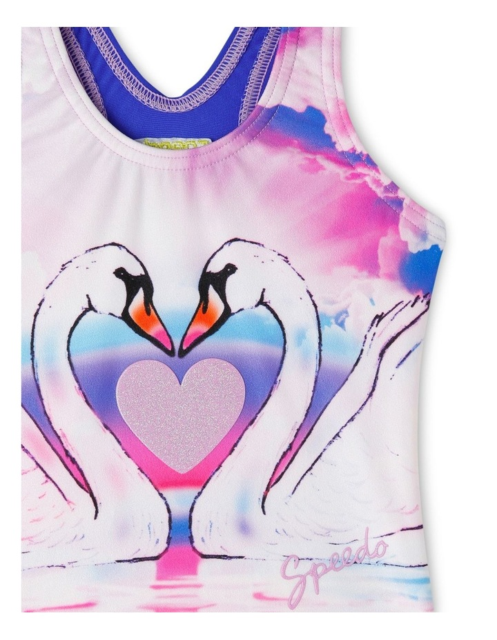 TODDLER GIRLS SWAN DREAM ONE PIECE image 3