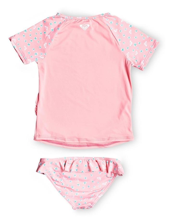 Splash Party Short Sleeve Upf 50 Rash Vest Set image 2