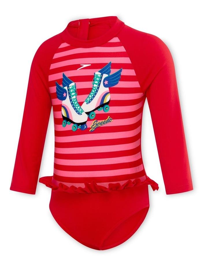 Toddler Girls Flounce Sun Suit image 1
