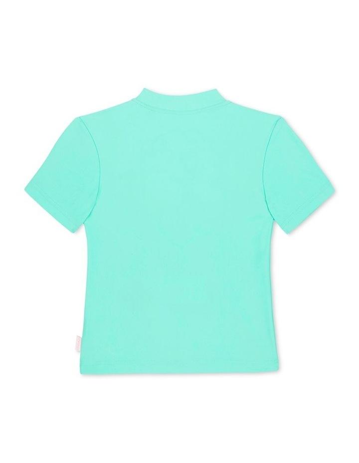 Sweet Summer Short Sleeve Zip Front Rashie image 2
