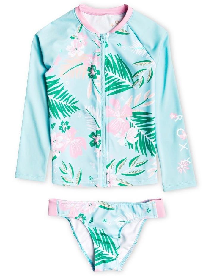 Sunshine Long Sleeve Zipped UPF 50 Rash Vest Set image 1